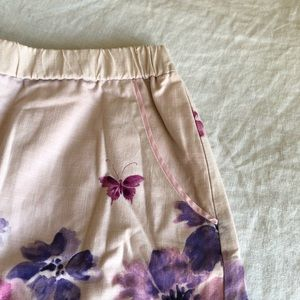Anthropologie Skirts - 🍃Anthropologie🍃pink and purple skirt